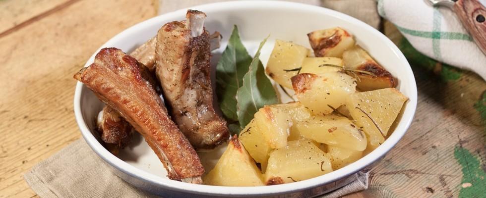 Rosticciana di maiale, tradizione toscana
