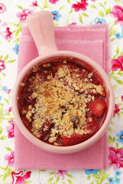 060 - crumble di fragole