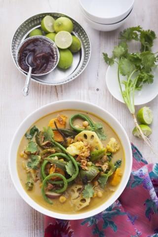 Curry di verdure, ricetta indiana