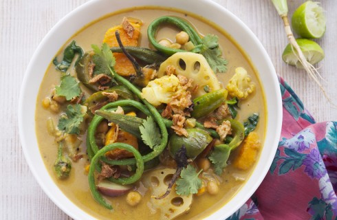 Curry di verdure, ricetta indiana
