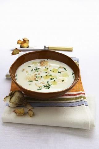 Zuppa di aglio: intensa