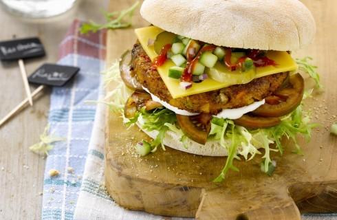 Hambuger di patate: vegetariano