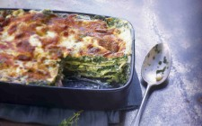 Lasagne alle erbe spontanee