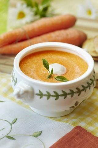 Crema di carote vegana