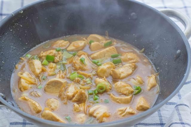Step 4 pollo alla soia
