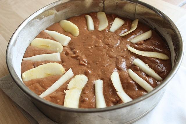 Torta mele pere e cioccolato foto 4