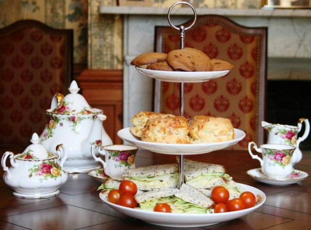afternoon tea british corner
