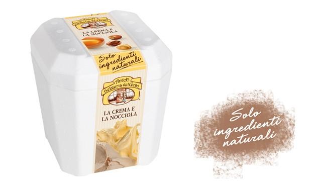 crema e nocciola antica gelateria