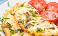 La frittata asparagi e funghi con la ricetta veloce
