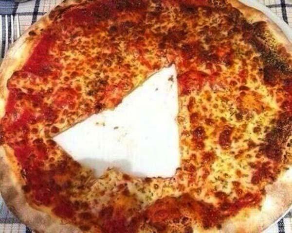 pizza tagliata male