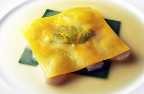 Invenzioni culinarie: il raviolo aperto di Marchesi