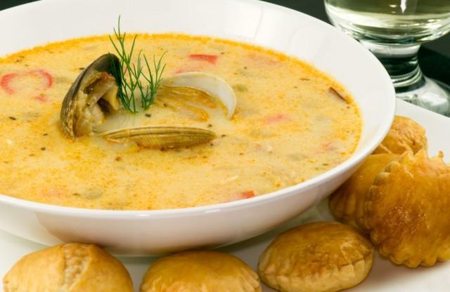 zuppa di pesce - chowder