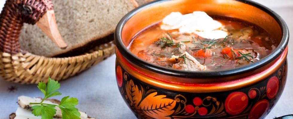 Non solo cucina zarista: cosa si mangia in Russia
