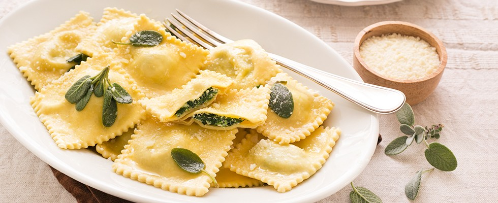 Ravioli ricotta e spinaci: facili