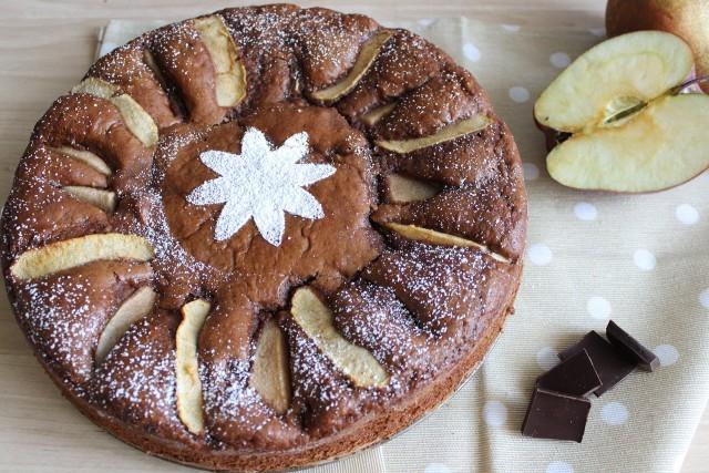 torta mela pera e cioccolatostill3