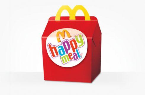 McDonald's festeggia i 30 anni di Happy Meal in Italia
