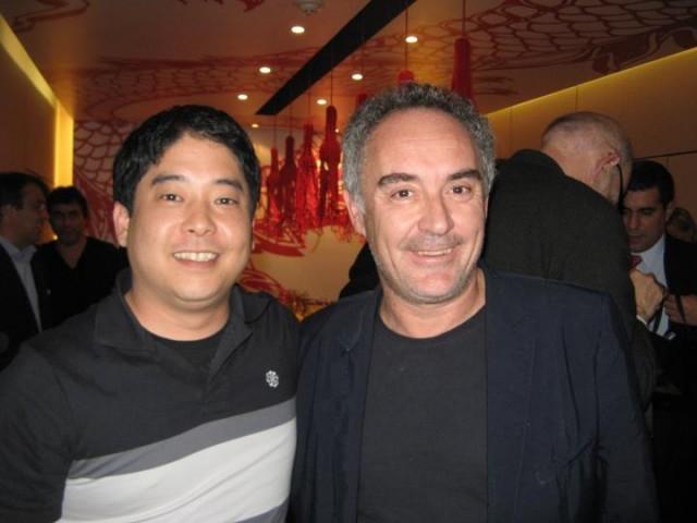 Mitsuharu Tsumura e Ferran Adrià