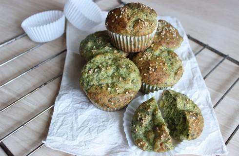 Muffin vegani spinaci e tofu