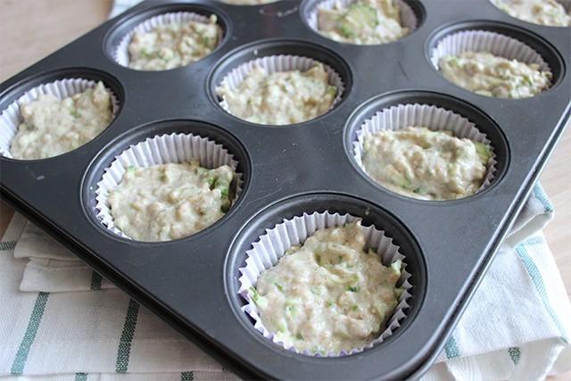 Muffin vegani alle zucchine foto 3