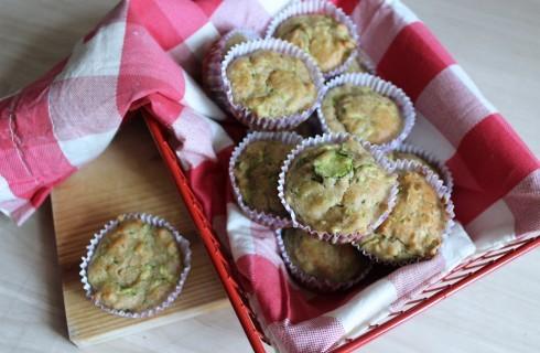 Muffin vegani alle zucchine