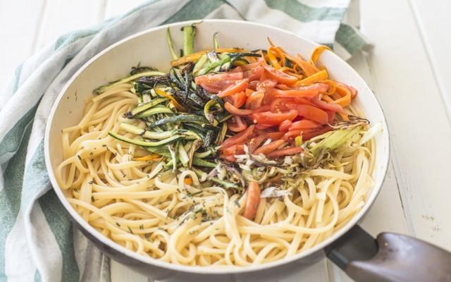 Pasta con le verdure step (3)