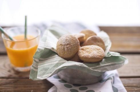 Biscotti light all'arancia