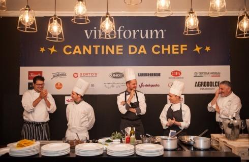 Vinòforum a Roma: quest'anno Cantine da Chef è internazionale