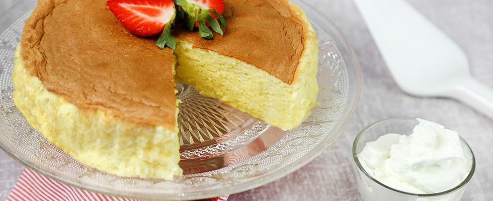 Goloso: cheesecake soufflé