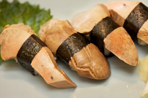 fegato di rana pescatrice