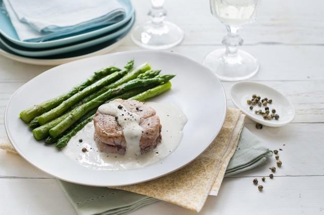 filetto di maiale al pepe verde (4)