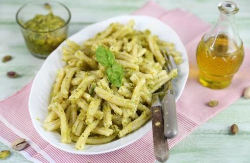 Pasta al pesto di pistacchi: vegana