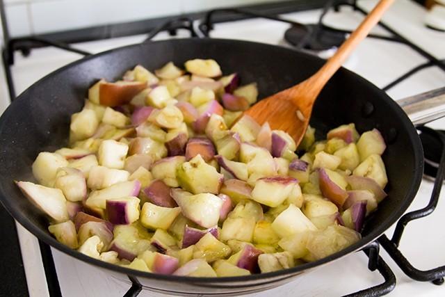 melanzane in agrodolce step (2)