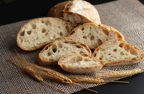 Pane casereccio con poolish