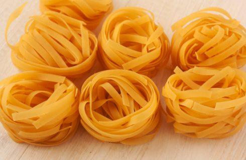 La pasta fatta in casa nella ricetta senza glutine