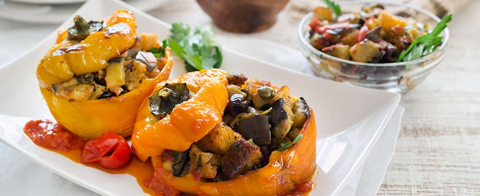 Peperoni imbottiti, cucina napoletana