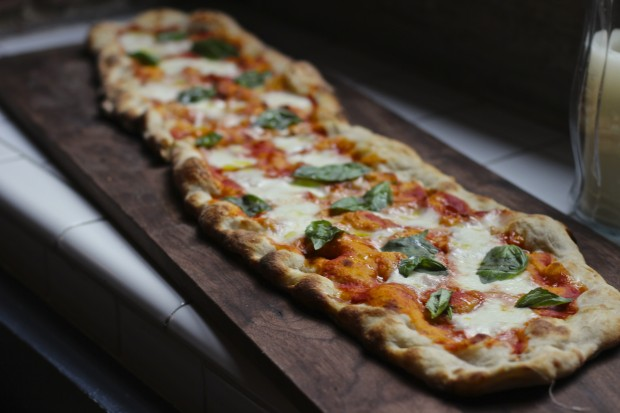 pizza romana o al metro