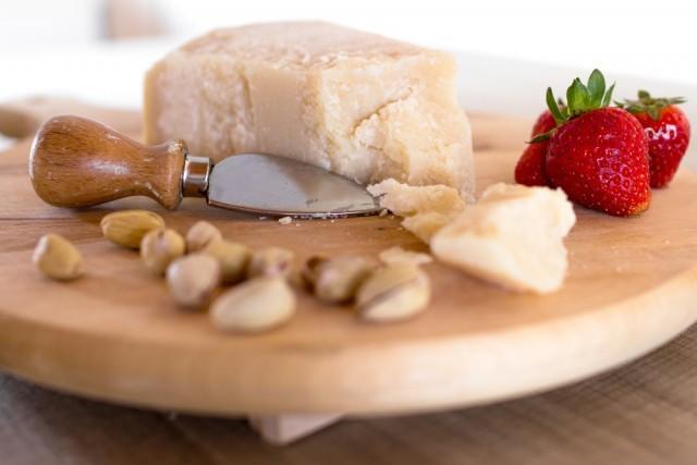 fragole e parmigiano
