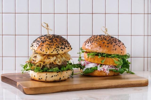 hamburger classico e vegano