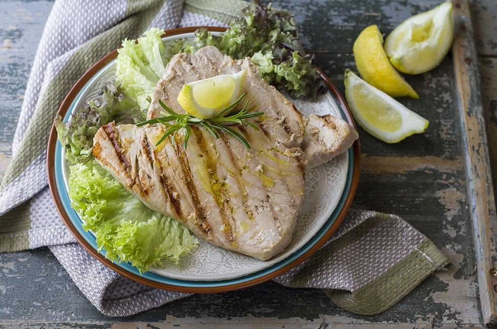 Ricetta tonno alla piastra agrodolce - Cucinare tonno fresco ...