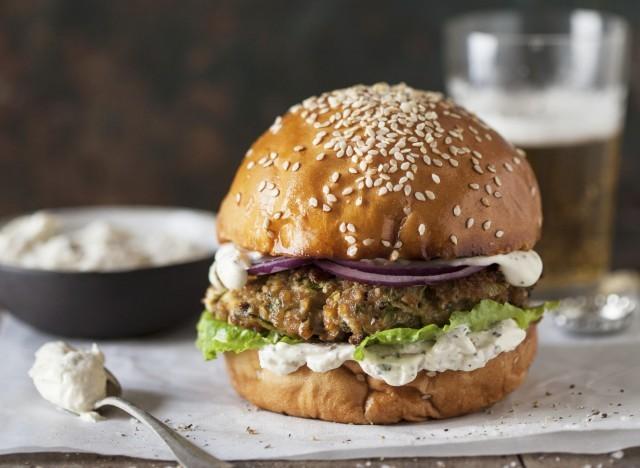 burger di sorgo