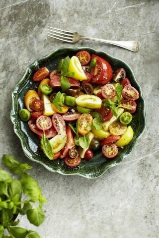 Insalata di pomodori, facilissima