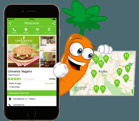 10 app per comprare cucinare e mangiare vegano agrodolce for Cucinare vegano