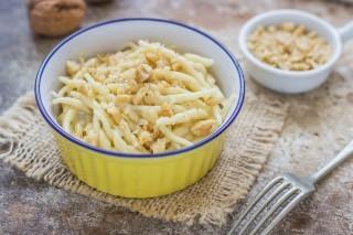 Pasta gorgonzola e noci: golosa