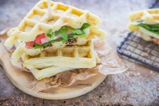 Waffle salati: da provare