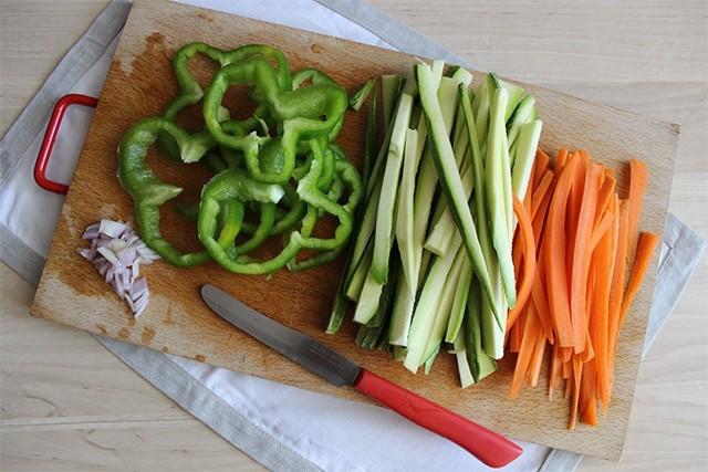 Tempeh di verdure foto_1