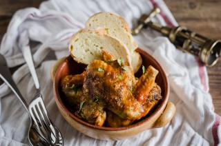 Alette di pollo in padella