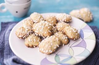 Biscotti semplici alla banana, con poco zucchero