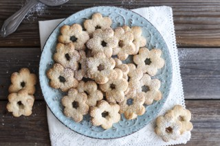 Biscotti alla panna senza uova