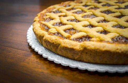 La crostata di albicocche con la ricetta per il Bimby