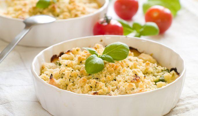 Come preparare il crumble di verdure di Benedetta Parodi